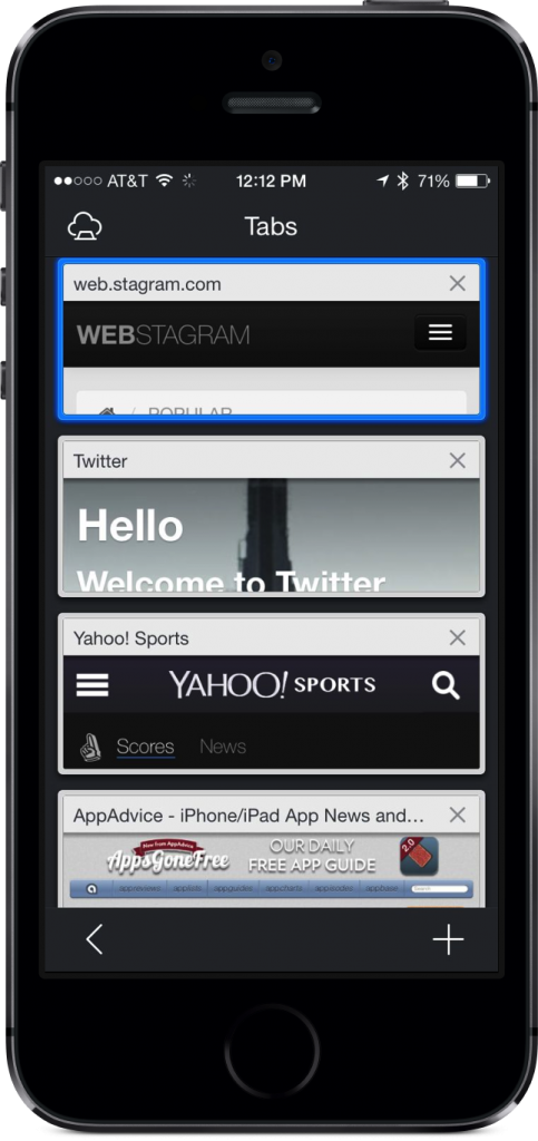 Maxthon, The Mobile Safari Alternative Is All Dressed Up For Apple's iOS 7