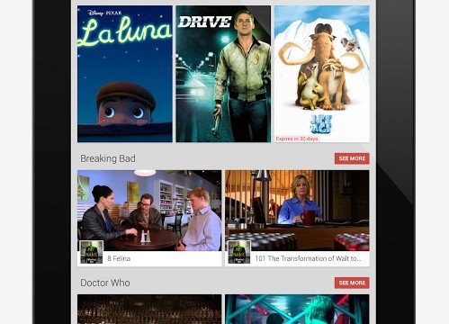 Google Play Movies And TV Lands In The App Store