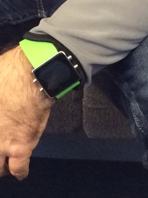 Updated: Could This Be Apple's 'iWatch' Out In The Wild?