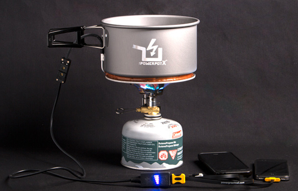 The PowerPot X Series Takes To Kickstarter Offering 10 Watts Of Thermoelectric Energy