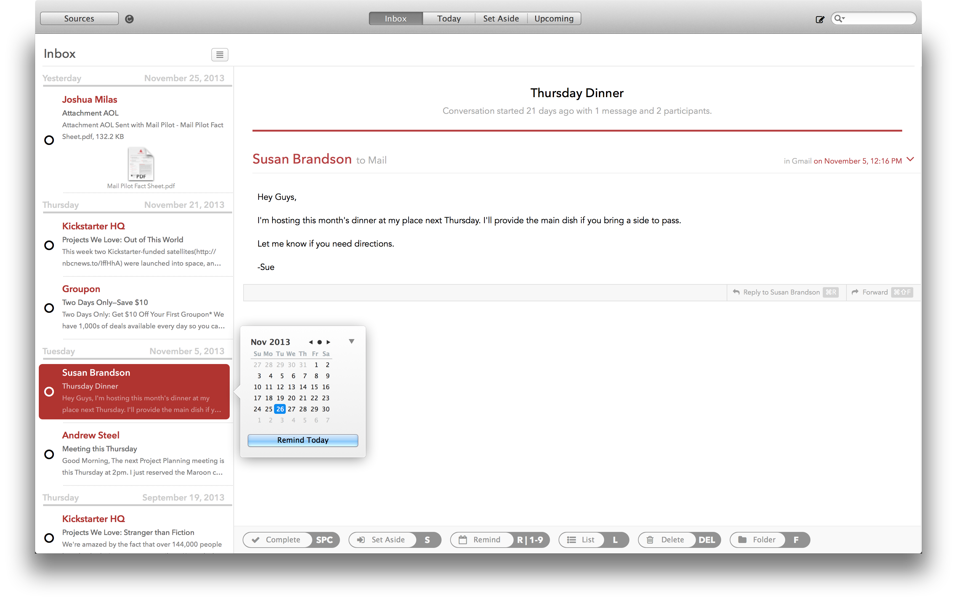 Mail Pilot For Mac Will Transform Your Emails Into A To-Do List