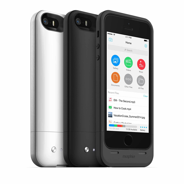 Mophie's New Space Pack For The iPhone 5/5s Combines A Battery Case With Built-In Storage