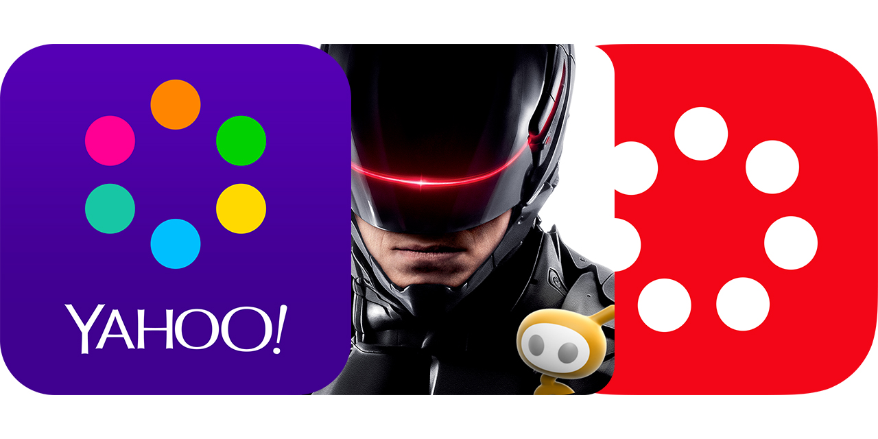 Today's Best Apps: Yahoo News Digest, RoboCop And The Johnson & Johnson Official 7 Minute Workout App