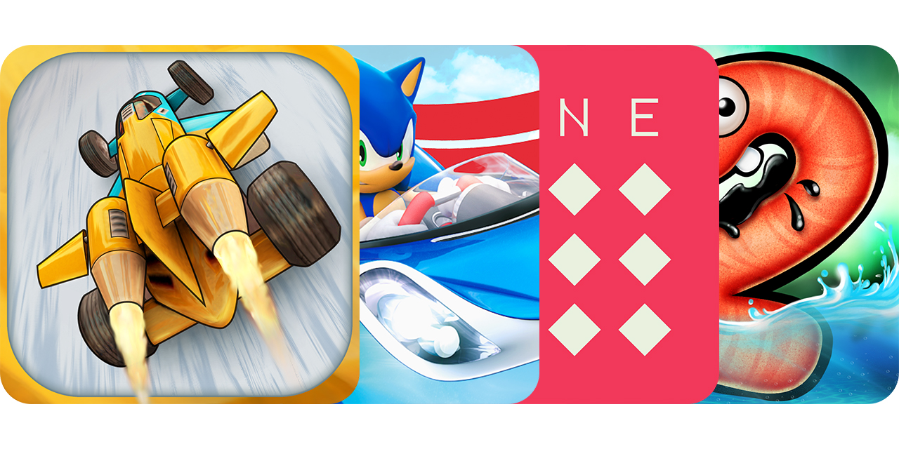 Today's Best Apps: Jet Car Stunts 2, Sonic & All-Stars Racing Transformed, Lyne And More