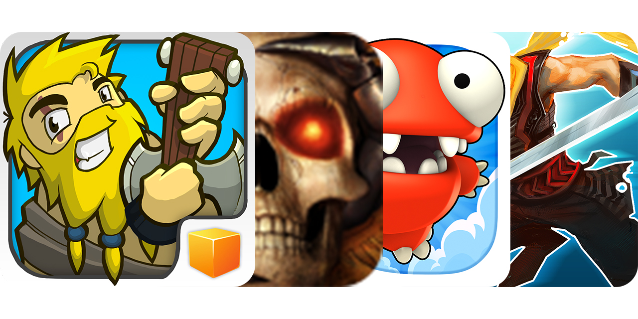 Today's Best Apps: Bardbarian, Baldur's Gate II, Mega Jump 2 And Shadow Blade