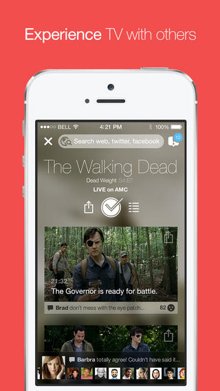 Check In And Tag Along With Others As You Watch TV With tvtag, Formerly GetGlue
