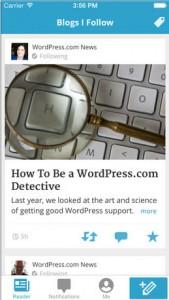 WordPress Update Unveils An iOS 7 Inspired Design