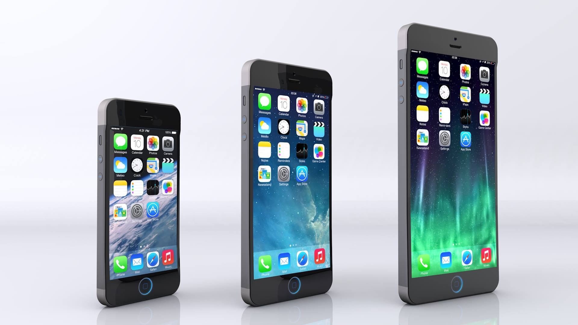 The Latest Apple 'iPhone 6' Concept Video Shows 3 New Handsets Putting On A Show