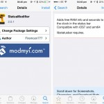 Cydia Tweak: Check On Your iDevice's Free RAM And More Using StatusModifier