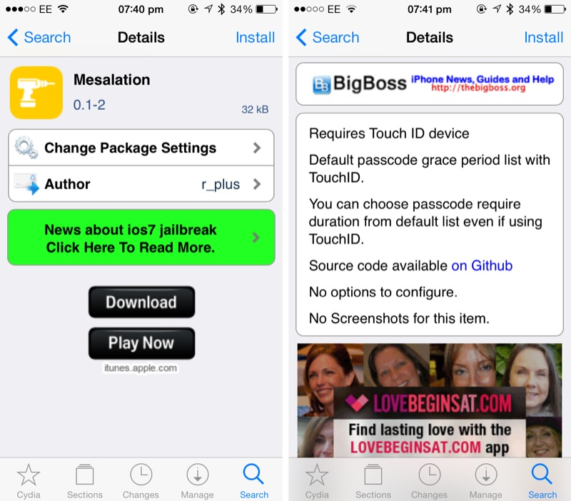 Cydia Tweak: How To Configure A Touch ID Grace Period For Your iPhone 5s