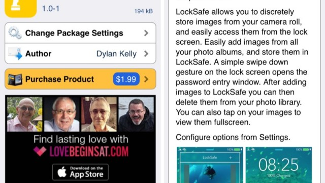 Cydia Tweak: LockSafe Adds A Private, Secure Photo Locker To Your Lock Screen
