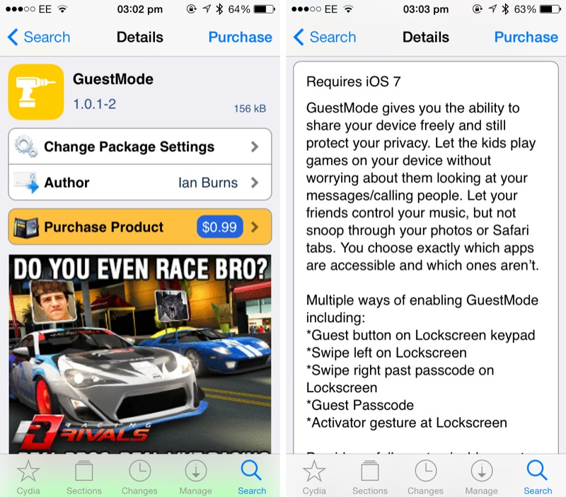 Cydia Tweak: Here's How You Can Enable A Guest Mode On Your iOS Device