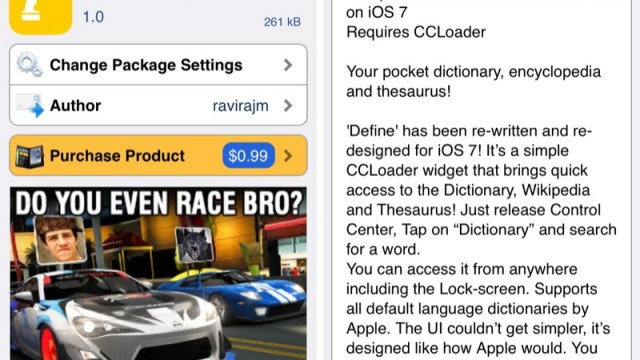 Cydia Tweak: How To Access A Dictionary, A Thesaurus And Wikipedia From Control Center
