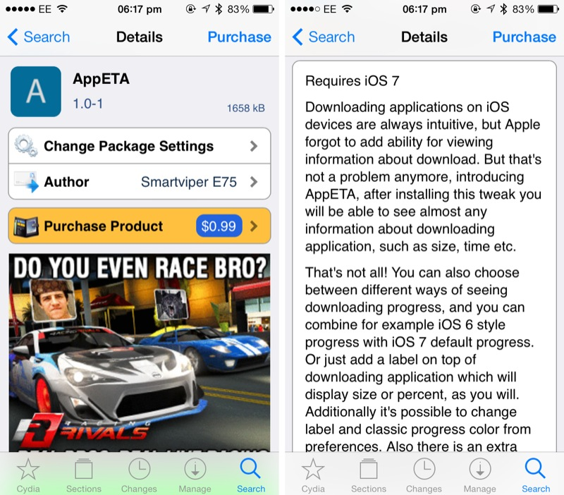 Cydia Tweak: How To Check Detailed iOS App Download Progress Under iOS 7