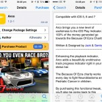 Cydia Tweak: Arco Is An Impressive Package That Supports A Great Cause
