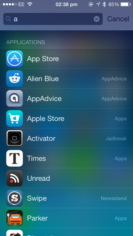 Cydia Tweak: How To Get Spotlight To Take You To An App's Location, Instead