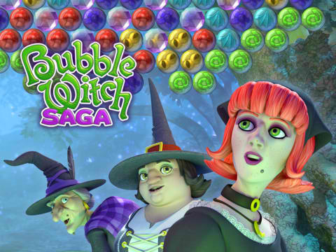 King Casts Romantic Spell On Bubble Witch Saga For Valentine's Day