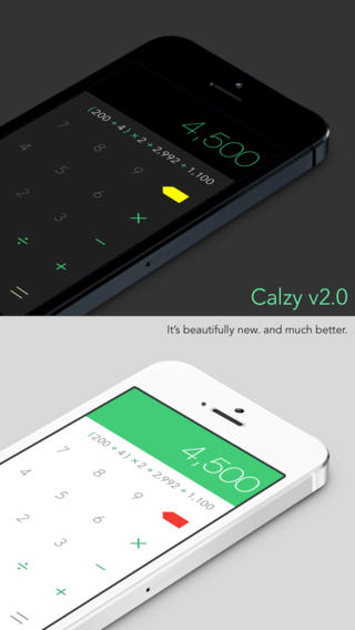 It All Adds Up: Calzy 2.0 Brings iOS 7 Redesign, Calculation Bookmarking And More