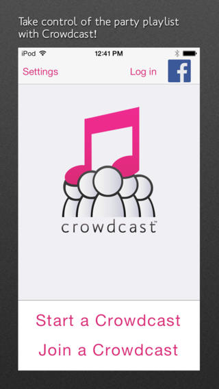 Take Control Of The Party Playlist With DataViz's Crowdcast App For iOS