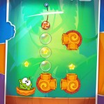 Feed Om Nom More Candy In Cut The Rope: Experiments' Bamboo Chutes Level Pack