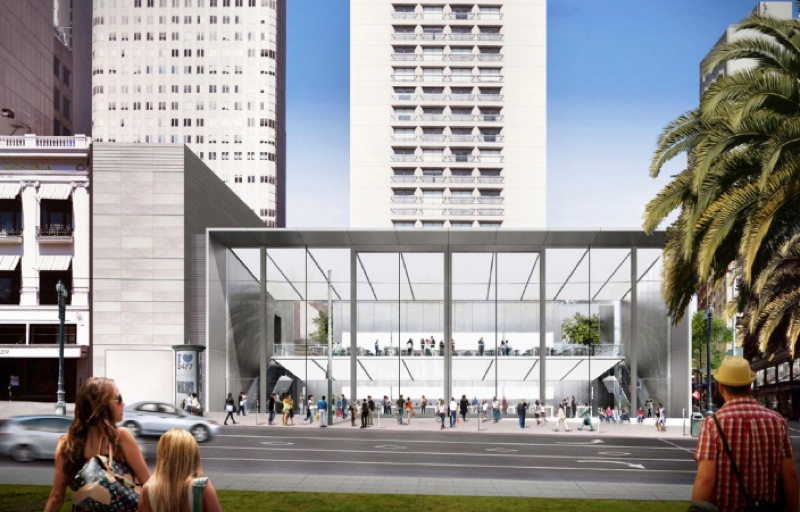 Apple Gains Approval To Build Its Most Iconic Retail Store Yet In San Francisco