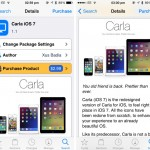 Cydia Tweak: Say Hello To Carla, A Good Looking Theme For iOS 7