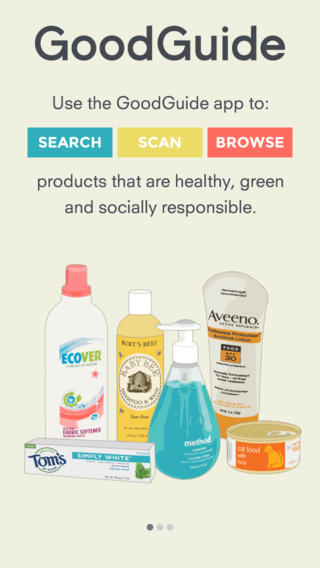 Green And Healthy Product Database App GoodGuide Goes 7.0 For iOS 7