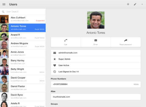 Super! Google Releases New iOS App Especially For Google Apps Administrators