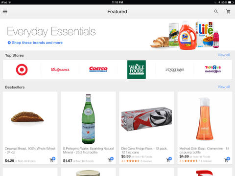 Google Shopping Express App Gains Universal Support For iPad Plus New Features