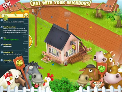 Build A Collective Farm With Hay Day's New Neighborhood And Chat Features