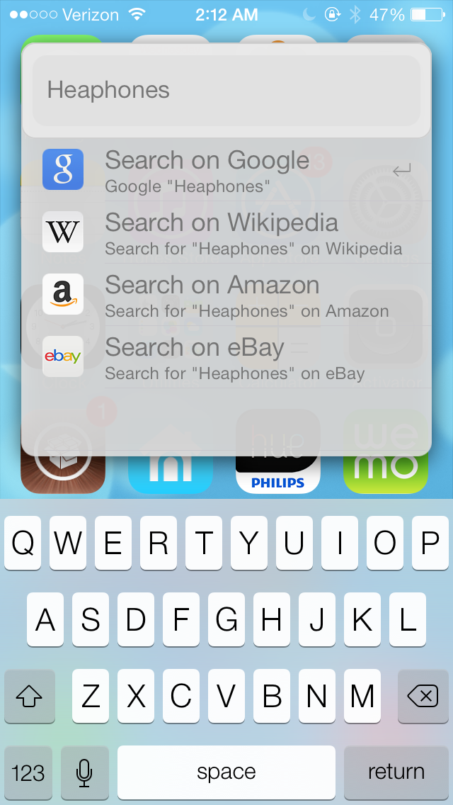 Cydia Tweak: Forget About Spotlight Search, Weasel Is All You'll Ever Need