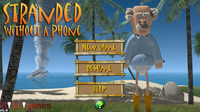 Quirky App Of The Day: Escape From The Island While Stranded Without A Phone