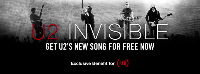 Apple, Bank Of America And (RED) Offering Free iTunes Download Of U2's 'Invisible'