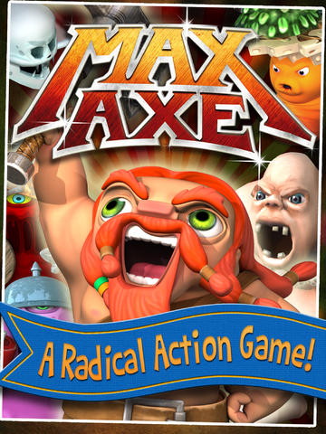 Become A Barbarian Berserker In Max Axe, Apple's Free App Of The Week In The App Store