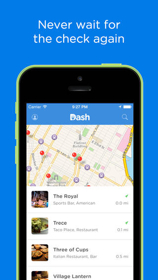 Pay With Dash To Quickly And Easily Settle Your Tab At Restaurants And Bars