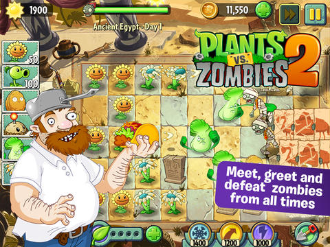 PopCap Shows You Who's The Zomboss In Latest Update To Plants Vs. Zombies 2