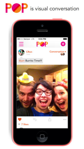 Pop Goes This New iOS App For Sharing Photos, Videos And Animated GIFs