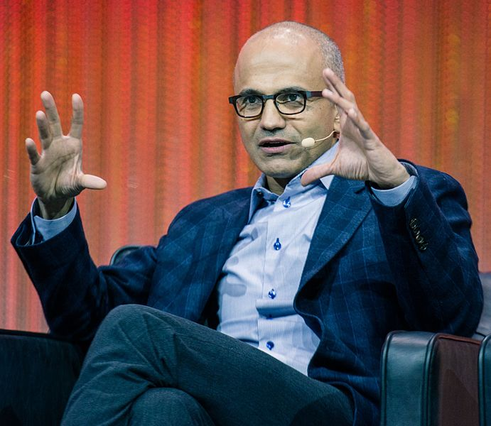 Insider Nadella Replaces Ballmer As Microsoft CEO, While Gates Exits As Chairman