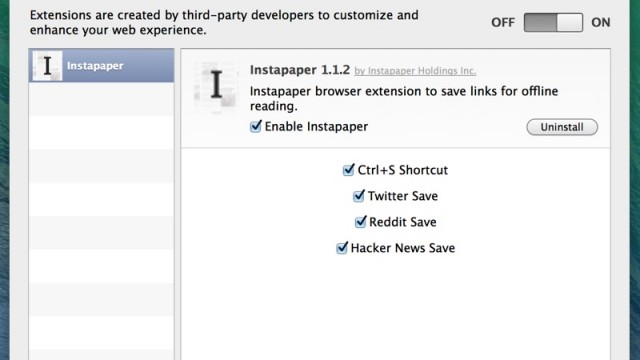 Betaworks Rolls Out Enhanced Instapaper Safari Extension For Mac Users