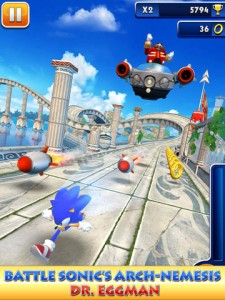 Sega Updates Sonic Dash With New Explosive Boss Battle Featuring Dr. Eggman
