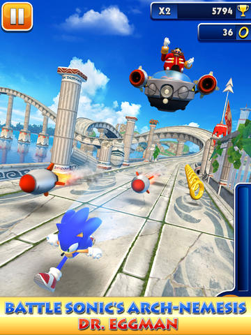 Sega Updates Sonic Dash With New Explosive Boss Battle Featuring Dr. Eggman