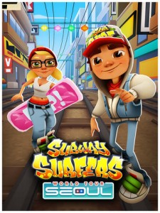 It's Time To Ride The Seoul Train On The Subway Surfers World Tour