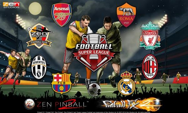 Super League Football Kicks Off Next Week In Zen Pinball For iOS And Mac