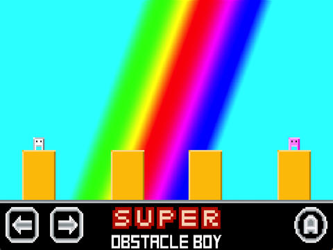 Rescue The Girl And Don't Die In The New iOS Platformer Game Super Obstacle Boy