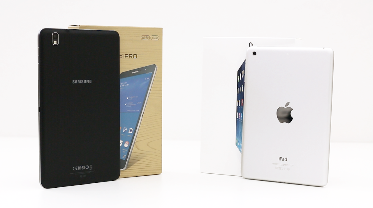 Battle Of The Mini Tablets: Galaxy Tab Pro 8.4 Versus iPad mini With Retina Display