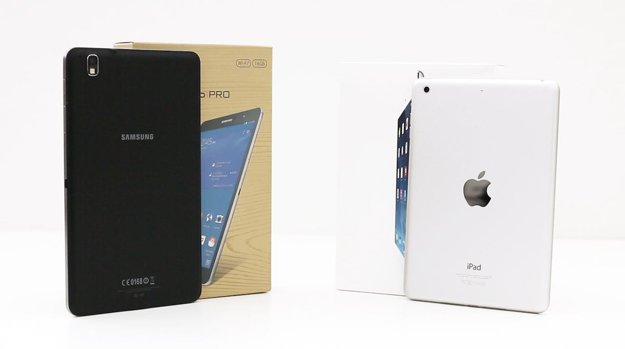 Battle Of The Mini Tablets: Galaxy Tab Pro 8.4 Versus iPad mini With Retina Display