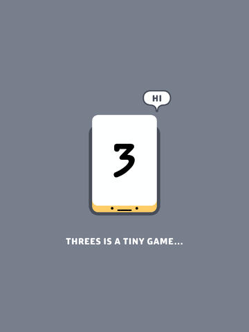 Master The Power Of 3 In Threes! For iOS, From The Makers Of Puzzlejuice