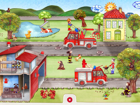 Wonderkind's Kid-Friendly Tiny Firefighters Is Apple's Free App Of The Week