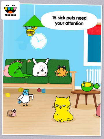 Toca Boca Lets Kids Take Care Of 15 Cute And Cuddly Critters In Toca Pet Doctor