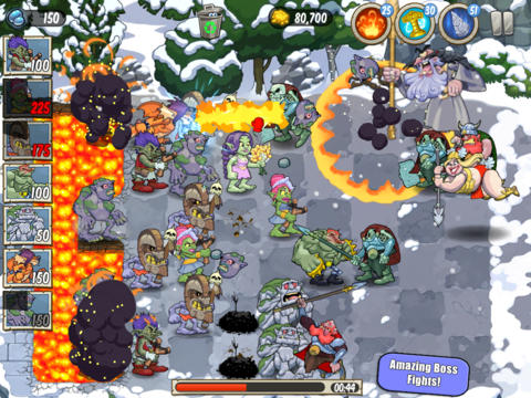 Plants Vs. Zombies-Inspired Lane Defense Game Trolls Vs Vikings Invades iOS